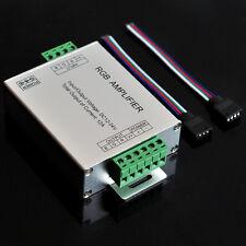 DC 12V-24V 12A 144W Signal RGB Amplifier Repeater for 3528 5050 LED Strip Light
