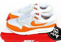 Nike Air Max 1 Anniversary Magma Orange White Grey UK 5 7 8 9 10 11 US New
