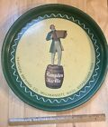 1940s Hampden Mild Ale Round Metal Beer Tray (Willimansett Brewing Co.)