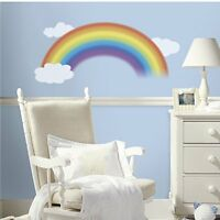 RoomMates RMK1629GM Over the Rainbow Peel and Stick Giant Wall Decal , New, Free