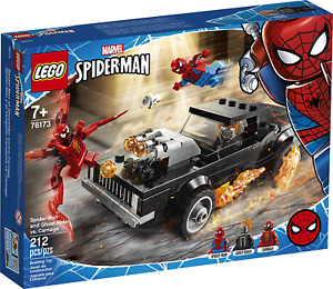 LEGO Marvel Spider-Man and Ghost Rider vs. Carnage Set 76173 - Toy Gift NEW 2021