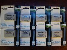 Lot 8x Vivitar Batteries EN-EL5 Compatible with Nikon Coolpix