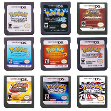 Pokemon Game Card For Nintendo DS 3DS NDSI NDSL NDS Lite US Version Platinum Toy