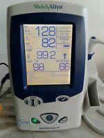 Welch Allyn LXi 45NTO Spot Vital Signs Monitor NIBP TEMP SpO2 w/ Cuff Size 11 #2