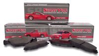SP Performance MD748 SP Street Plus HP Metallic Brake Pads Front