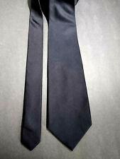 "Brooks Brothers Black Silk Tie 60 x 4"" Made in USA"