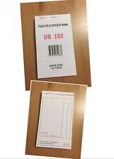 100X Take Away Docket Book