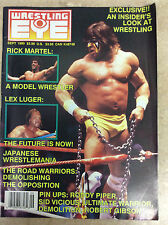 Wrestling Eye Magazine September 1990 Warrior Martel Luger W/ Pinups!