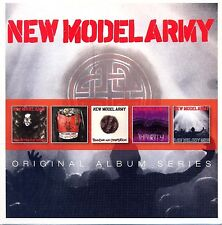 New Model Army ORIGINAL ALBUM SERIES Box Set NO REST FOR THE WICKED New 5 CD