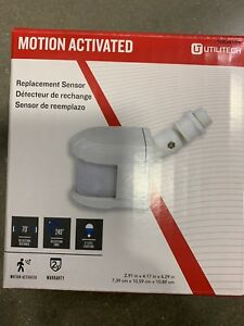 Utilitech White Wire-in Replacement Motion Sensor