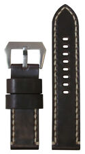 26mm XXL Panatime D Burgundy Horween Shell Cordovan Leather Watch Band w WS