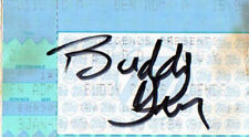 THE GREAT BUDDY GUY AUTOGRAPH TICKET FROM HIS CLUB