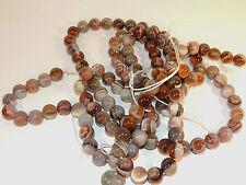 Botswana Agate 12mm round Gemstone Beads (2287)
