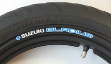 Suzuki Gladius Wheel rim stickers decals sfv650 sfv 650