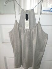 NWT bb dakota marvent tank gray with gold size large