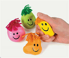 1 Stress Ball W/Hair (4Colors choices)*Free S/H when u buy 6 items from my store