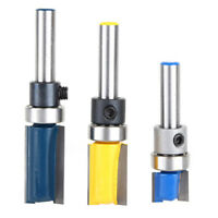 1 / 4Inch Schaft Hartmetall Flush Trim Router Bit Trimmer Mill Cutter 12.7x25mm