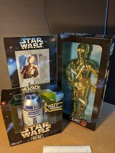 """Star Wars: Action Collection - R2-D2 and C-3PO set, 12"""" fully poseable - NIB"""