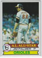 "1979 TOPPS JIM PALMER ""A.L. ALL-STAR"" #340 BALTIMORE ORIOLES NICE L@@K"