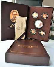 2009 Lincoln Coin & Chronicles Set - 4 Different Cents & Silver Lincoln Dollar