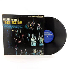 The Rolling Stones Got Live If You Want It Record London Blue Label Vinyl Album