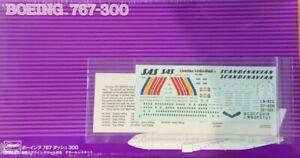 """1/200 Airliner: Boeing 767-300 SAS """"Purple Box"""" [Sweden] #SP222 : HASEGAWA"""