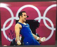 DANELL LEYVA SIGNED AUTOGRAPH 8X10 PHOTO 2016 RIO OLYMPICS USA GYMNAST COA #1