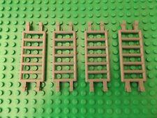 4 LEGO Dunkelgrau Bar Bar 7 x 3 Vierfach Klemmen Leiter No.30095 Ersatzteile