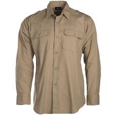 Tropenhemd 1/1 arm Cotton Khaki XXL
