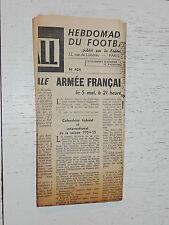 FRANCE FOOTBALL OFFICIEL HEBDOMADAIRE FFF N°424 04/05 1954