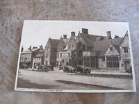 Worcestershire postcard - Old cars @ Lygon Arms Broadway Cotswolds