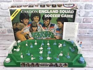 Official Casdon England Squad Soccer Game  Football Table Top Game Rare 1970s