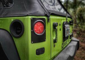 Round Tail Light Conversion Kit for Jeep JK/JKU