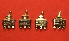 4 Cutler Hammer 8373k8 Toggle Switch 2 Position 3amp 250vac 6amp 125vac Lot 1