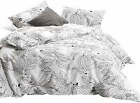 Wake In Cloud - Tree Comforter Set, 100% Cotton Fabric with Soft Microfiber Fill