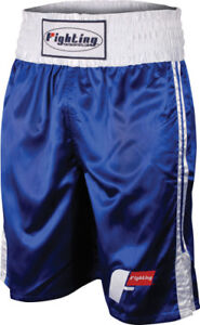Fighting Sports Pro Stock Boxing Trunks - XL - Blue/White