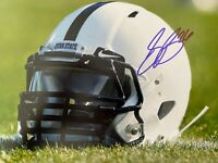 SAQUON BARKLEY SIGNED AUTOGRAPHED NEW YORK GIANTS 8X10 PHOTO COA PENN STATE