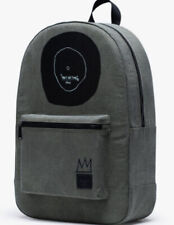 Herschel X Basquiat Backpack Black Basquiat Crown Logo