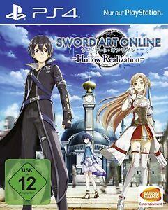 PS4 - Sword Art Online: Hollow Realization - (NEU & OVP)