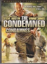 The Condemned (DVD, 2007, Canadian Bilingual)+ Box Sleeve
