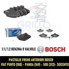 PASTIGLIE FRENI ANTERIORI BOSCH FIAT PUNTO (188) 500 (312) PANDA (169) 1.2 - 8V