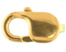 9ct Yellow Gold Lobster Trigger Jewellery Clasp 18mm
