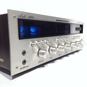 Vintage MARANTZ 2270 Stereophonic Stereo Receiver PROFESSIONALLY SERVICED 02/21