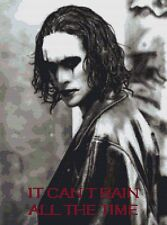 Brandon Lee The Crow Counted Cross Stitch Kit TV/Film Characters
