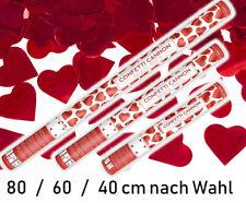 Konfetti Kanone Shooter Werfer 40/60/80 cm XXL Confetti Party Popper Hochzeit