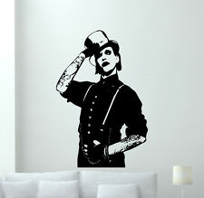 Marilyn Manson Poster Wall Decal Rock Music Vinyl Sticker Art Decor Mural 14sss