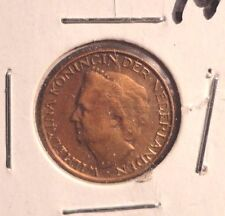 CIRCULATED 1948 1 CENT NETHERLANDS COIN (72216)3
