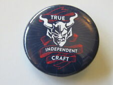 BEER BUTTON Pinback ~ Independent Craft STONE Brewing Co ~ Escondido, CALIFORNIA