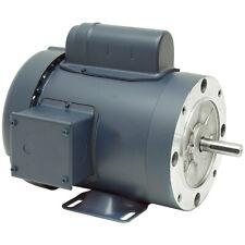 1/2 HP  3600 RPM  115/230 VOLT AC  56C TEFC   LEESON MOTOR   10-2748