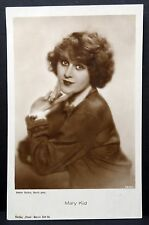 Mary Kid-AK-photo AUTOGRAPHE-carte-photo carte postale (Lot ma2546